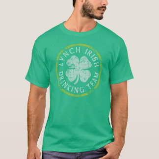 Lynch Irish Drinking Team t shirt