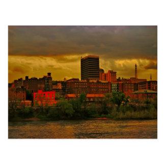 Lynchburg City skyline copy Postcard