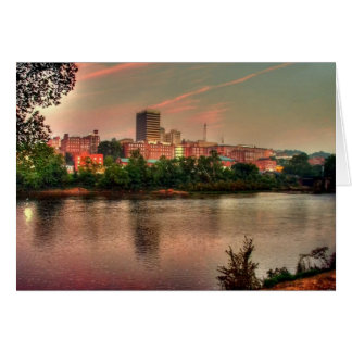 Lynchburg skyline Postcard