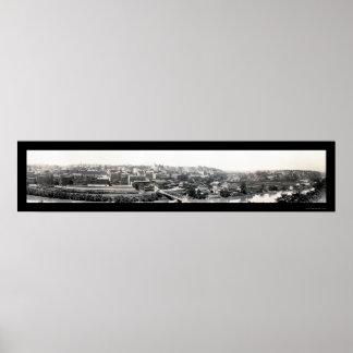 Lynchburg, VA Photo 1915 Poster