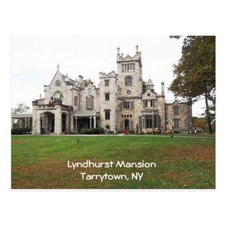Lyndhurst Mansion in Tarrytown, New York Postcard
