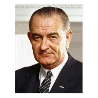 Lyndon B. Johnson 36th President Postcard
