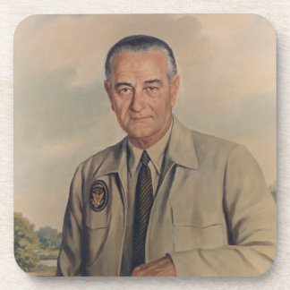 Lyndon B. Johnson - Elizabeth Shoumatoff (1969) Coaster