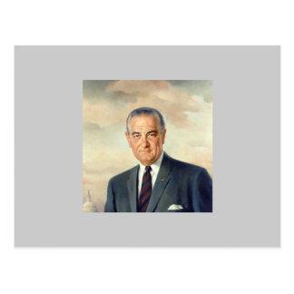 Lyndon B. Johnson Postcard