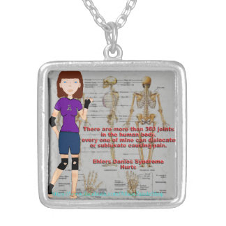 Lyndon Ehlers Danlos Syndrome Awareness necklace