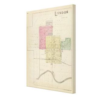 Lyndon, Osage County, Kansas Canvas Print