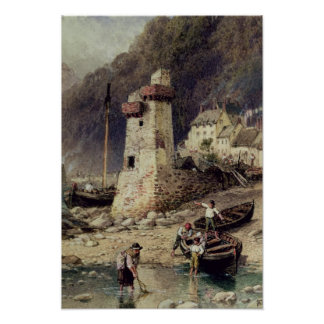 Lynmouth, Devonshire Poster