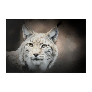 Lynx Acrylic Wall Art