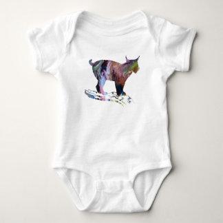 Lynx Art Baby Bodysuit