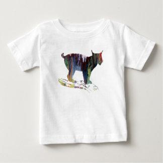 Lynx Art Baby T-Shirt