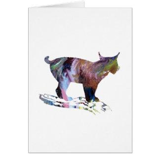 Lynx Art Card