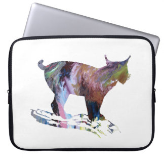 Lynx Art Laptop Sleeve