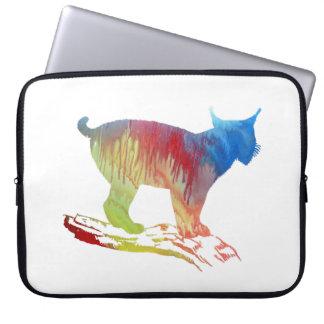Lynx Art Laptop Sleeve