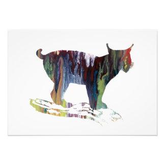 Lynx Art Photo Print