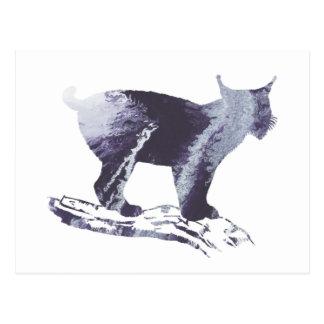 Lynx Art Postcard