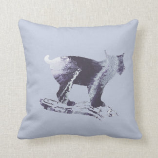Lynx Art Throw Pillow