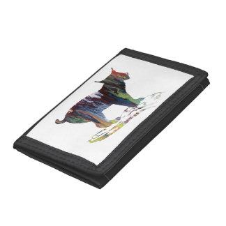 Lynx Art Tri-fold Wallet
