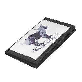 Lynx Art Tri-fold Wallets