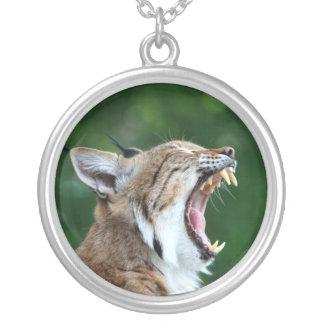 Lynx, bobcat beautiful photo pendant,  necklace