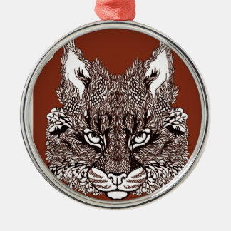 Lynx Metal Ornament