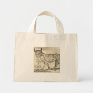 Lynx Mini Tote Bag