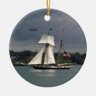 Lynx ornament