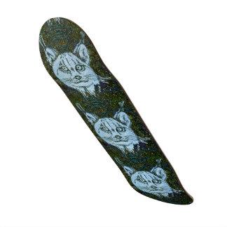 Lynx Patterned Skateboard