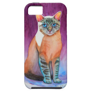 Lynx Point Siamese Cat at Kitty Angels iPhone 5 Covers