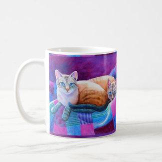 Lynx Point Siamese Cats Coffee Mug