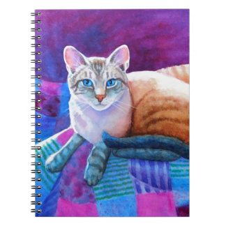 Lynx Point Siamese Cats Notebook