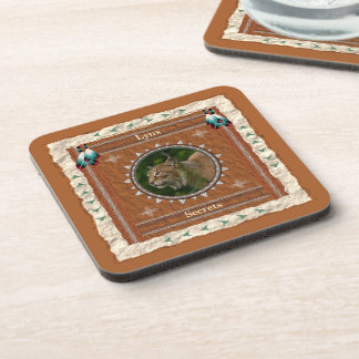 Lynx  -Secrets-  Cork Coaster Set of 6