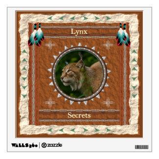 Lynx  -Secrets-  Wall Decal