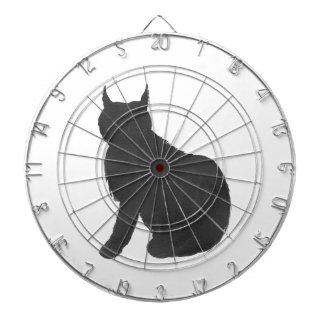 Lynx Silhouette Dartboard