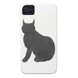 Lynx Silhouette iPhone 4 Covers