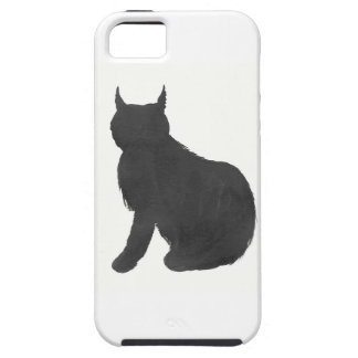 Lynx Silhouette iPhone 5 Covers