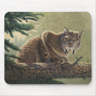 "Lynx ""Solitary Moment"" - Mouse Pad"