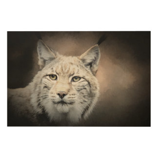 Lynx Wood Wall Decor