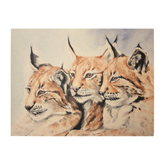 Lynxes Wood Wall Decor