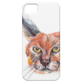 Lynxs drawing iPhone SE + iPhone 5/5S iPhone 5 Cover