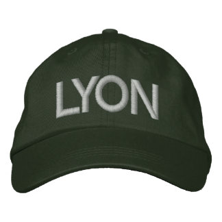 Lyon Cap Embroidered Hat