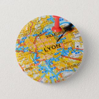 Lyon, France 2 Inch Round Button