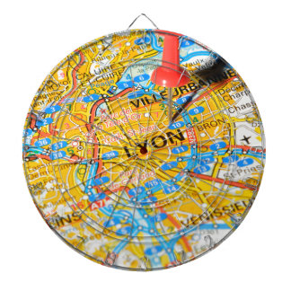 Lyon, France Dartboard
