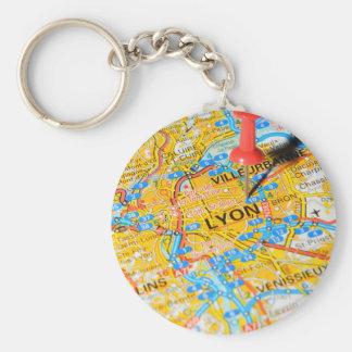 Lyon, France Keychain