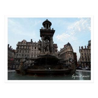 Lyon France Postcard