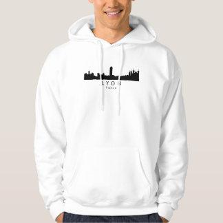 Lyon France Skyline Hoodie