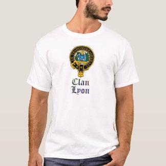 Lyon scottish crest and tartan clan name T-Shirt