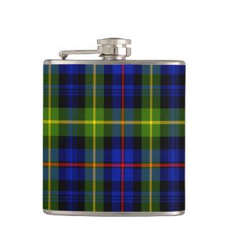 Lyon Scottish Tartan Hip Flask