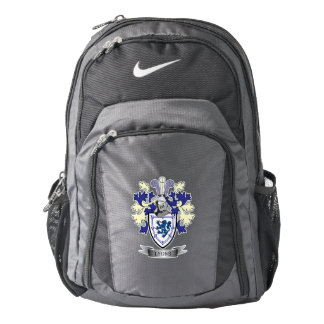Lyons Family Crest Coat of Arms Backpack