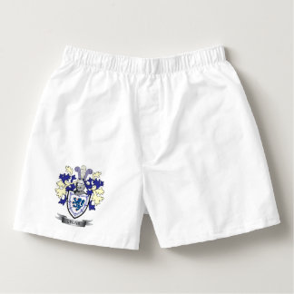 Lyons Family Crest Coat of Arms Boxers