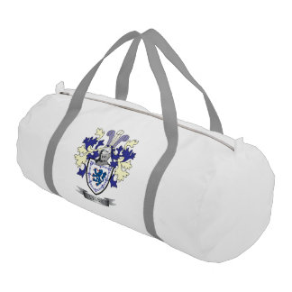 Lyons Family Crest Coat of Arms Gym Bag